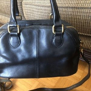 Genuine leather J. Crew bag